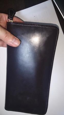 購入したココマイスターの長財布